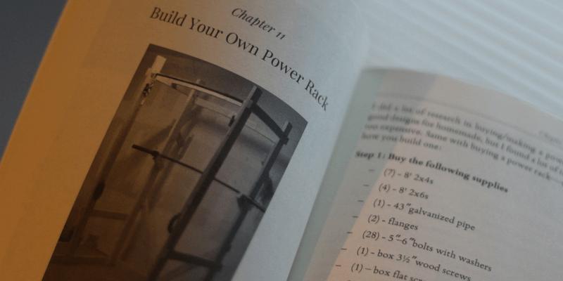 The garage gym athlete book
